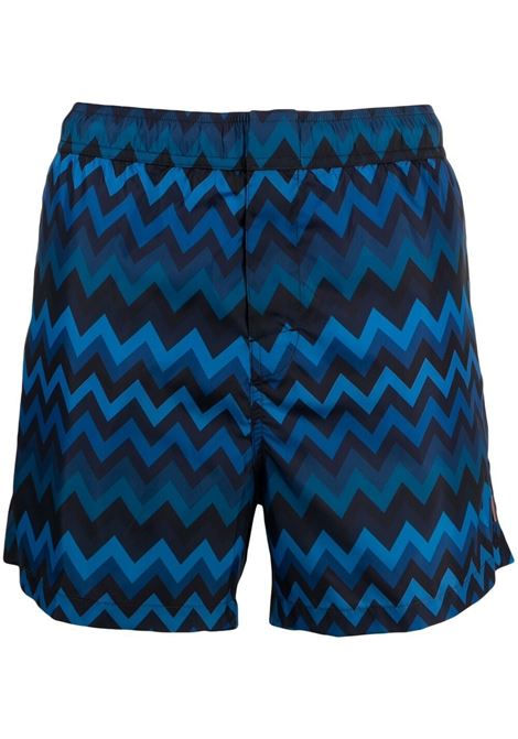 Missoni zigzag-print swim shorts men s70pr MISSONI | Swimwear | MUP00005BW00CSS70PR