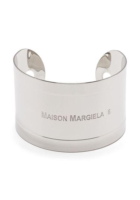 Mm6 Maison Margiela bracciale con logo donna 951 MM6 MAISON MARGIELA | Bracciali | S52UY0056S12876951