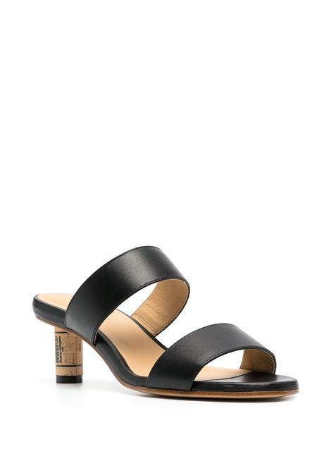 Cork heel sandals MM6 MAISON MARGIELA   S59WP0137P3970H8485