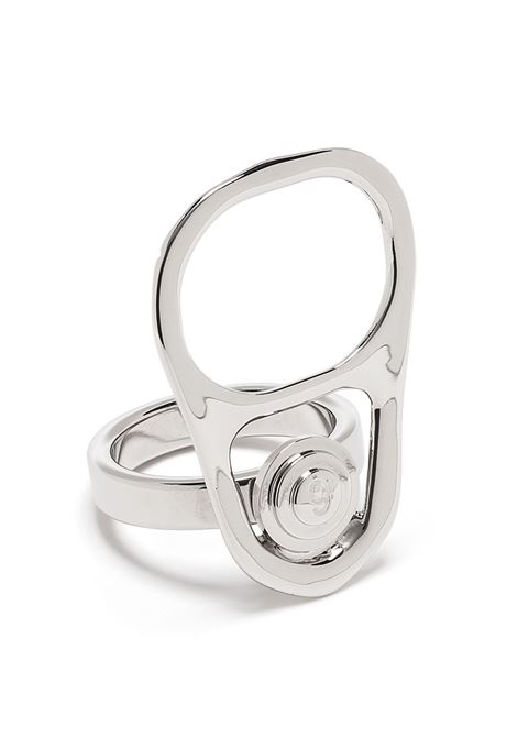 Mm6 Maison Margiela anello can opener donna 951 MM6 MAISON MARGIELA | Anelli | S62UQ0042S12905951