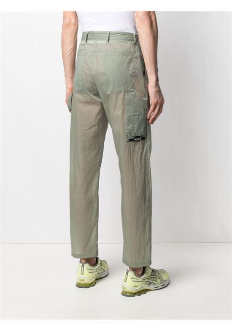 Moncler craig green semi-sheer trousers men 810 green MONCLER CRAIG GREEN | 2A00003539UT810