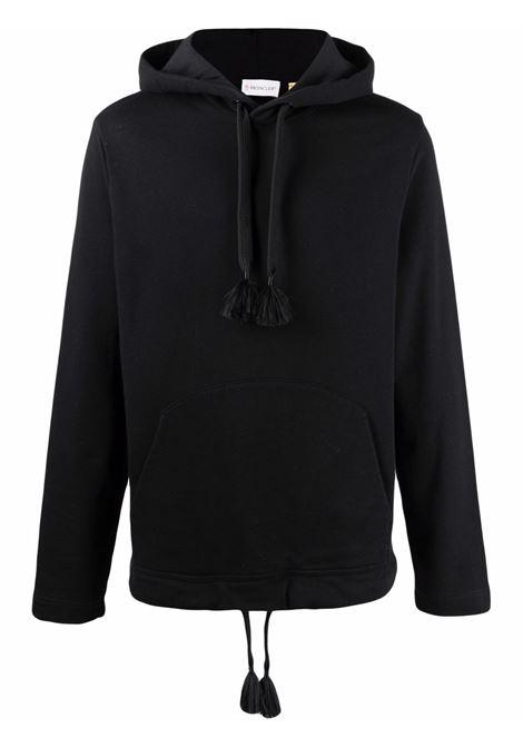 Moncler craig green logo sweatshirt men 999 black MONCLER CRAIG GREEN | 8G000048099W999