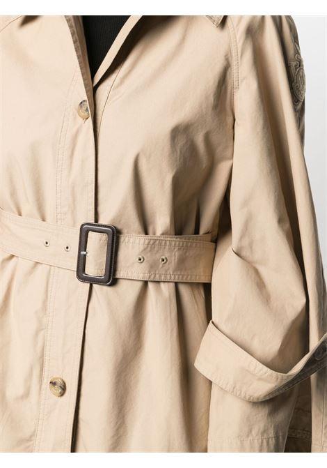 Moncler jw anderson a-line trench coat women 22t beige MONCLER JW ANDERSON | 1D70300M114522T