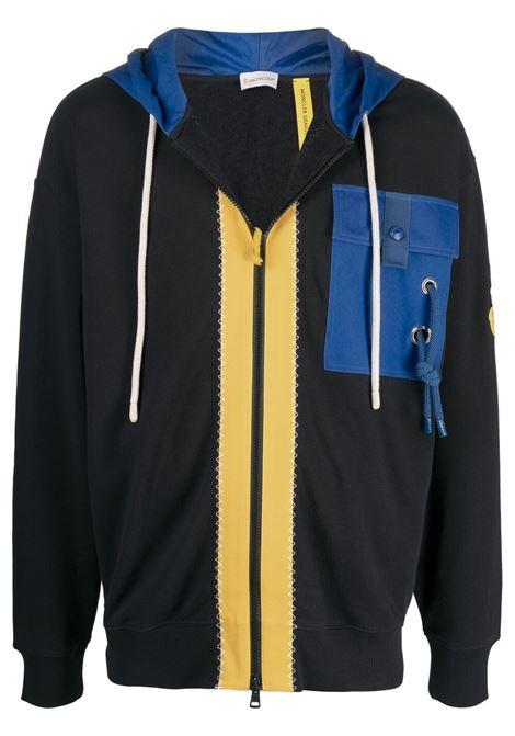 Moncler jw anderson zip-up sweatshirt men 778 blue MONCLER JW ANDERSON | 8G00005M1166778