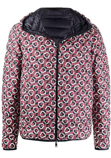 Moncler zois jacket men 770 blue red MONCLER | Outerwear | 1A5197054AWD770