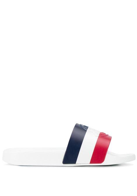 Striped slides MONCLER | Slides | 4C7000001A49002