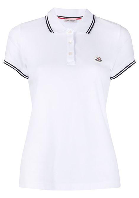 Polo con logo Donna MONCLER | T-shirt | 8A7020084667001
