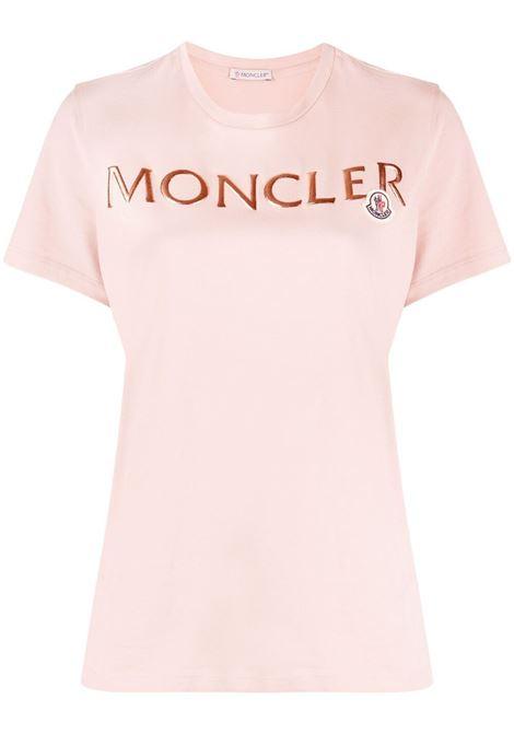 T-shirt con logo Donna MONCLER | T-shirt | 8C71510V8094510