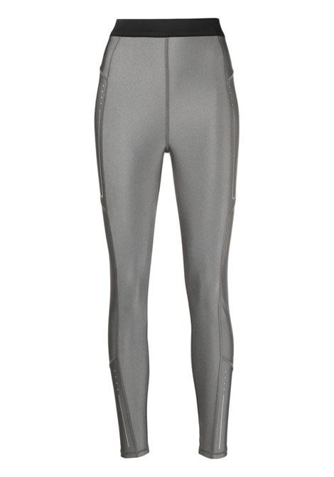 Moncler leggings a vita alta donna 913 grey MONCLER | Leggings | 8H731108790K913