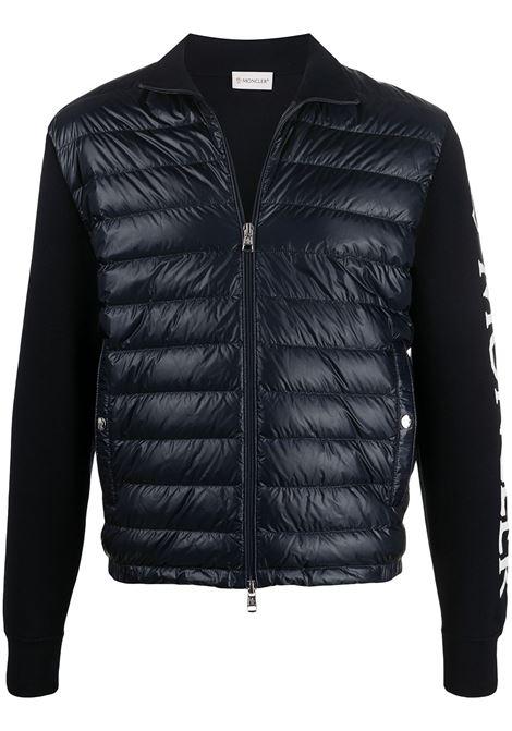 Logo bomber jacket MONCLER | Outerwear | 9B52100V9059742