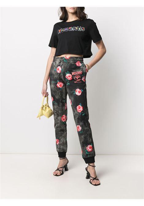 Pantaloni sportivi con logo Donna MOSCHINO | A03065272888