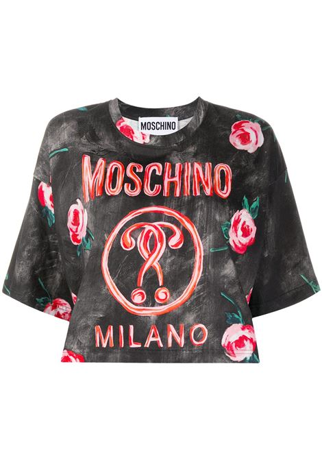 T-shirt con stampa Donna MOSCHINO | A07015402888