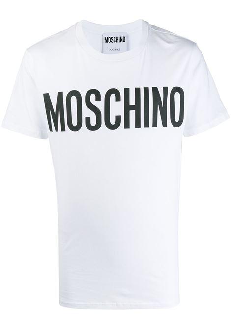 T-shirt con logo Uomo MOSCHINO | A070520401001