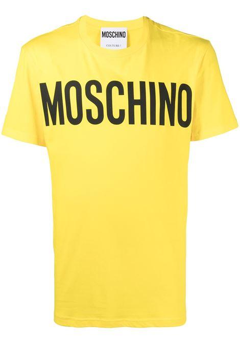T-shirt con logo Uomo MOSCHINO | A070520401027