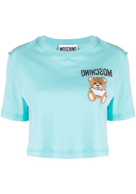 Moschino teddy bear t-shirt women fantasia azzurro MOSCHINO | T-shirt | A07054401333