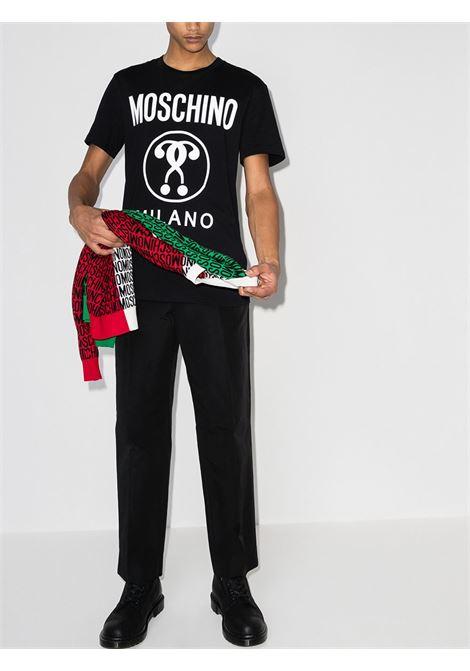 T-shirt con logo Uomo MOSCHINO | A070620401555
