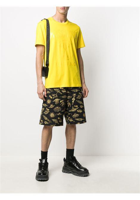 T-shirt con stampa Uomo MOSCHINO | A0706204027