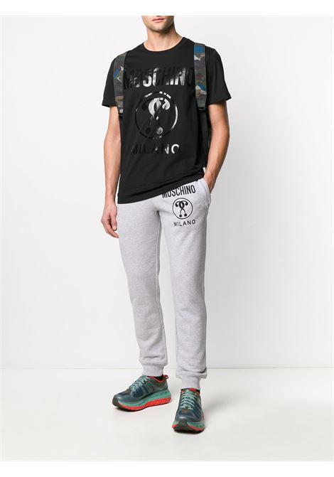 T-shirt con logo Uomo MOSCHINO | A07062040555