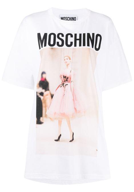 Logo T-shirt MOSCHINO | T-shirt | A07144401001