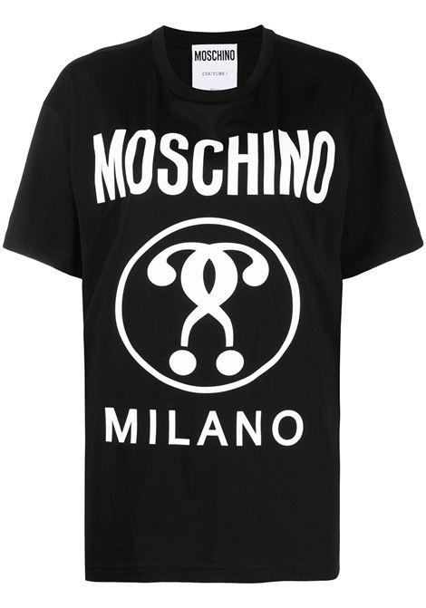 Double Question Mark T-shirt MOSCHINO | T-shirt | A07145402555
