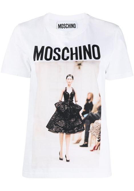 Logo T-shirt MOSCHINO | T-shirt | A07154401001
