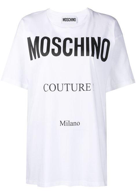 T-shirt con logo Donna MOSCHINO | A07165402001