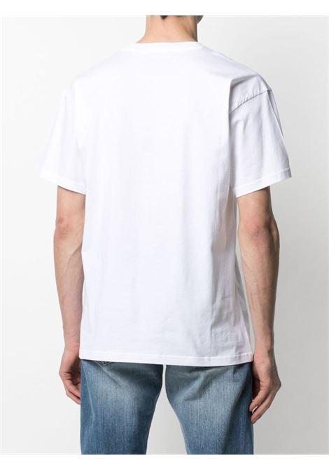 T-shirt con logo Uomo MOSCHINO | A07722401001