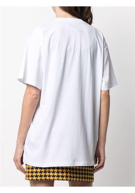 T-shirt con ricamo Donna MOSCHINO | A077810401001