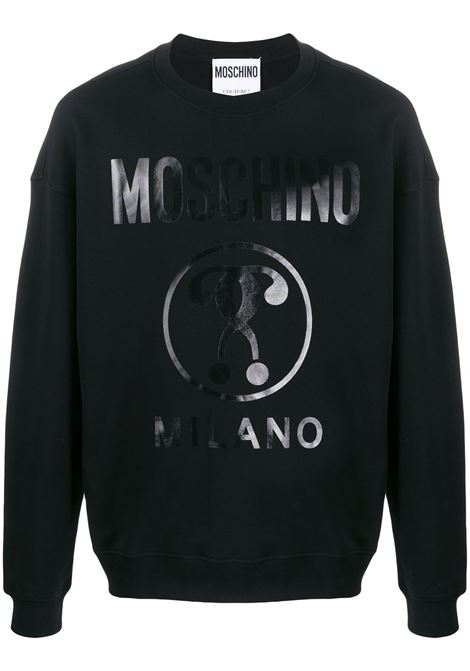 Double question mark sweatshirt MOSCHINO | Sweatshirts | A17042027555