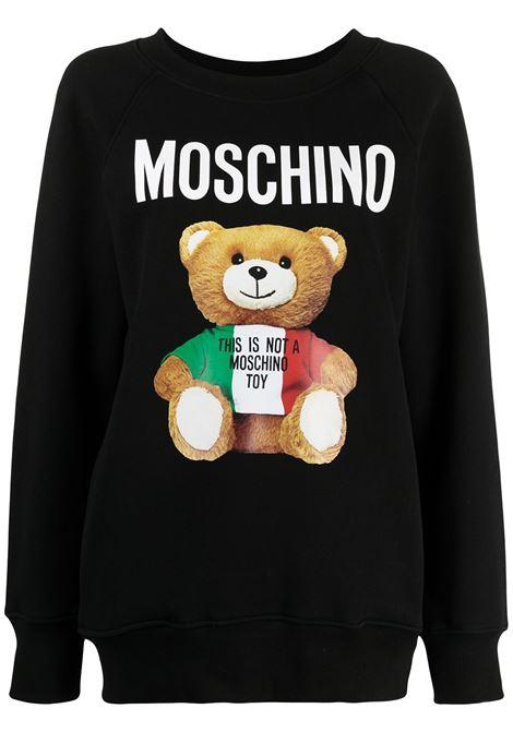 Italian Teddy Bear sweatshirt MOSCHINO | Sweatshirts | A17105271555