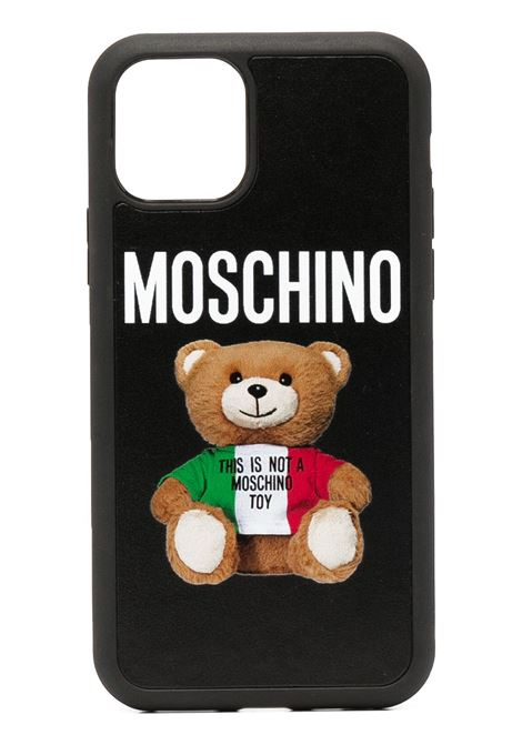 Cover per iPhone 11 Teddy Bear Unisex MOSCHINO | Cover | A794683011555