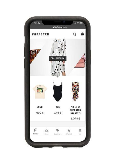 teddy bear print iPhone 11 Pro case MOSCHINO | A794683011555