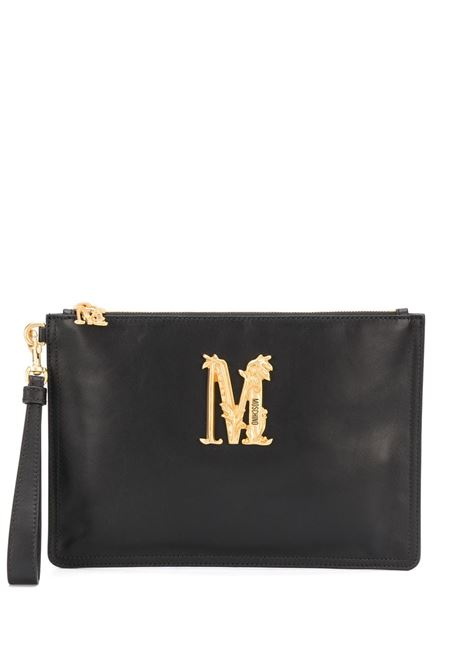 Logo clutch MOSCHINO | Clutch bags | A84318008555