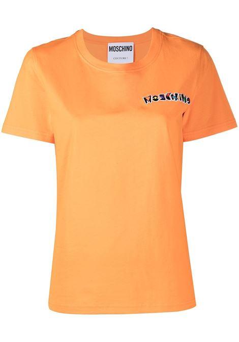 T-shirt con logo Donna MOSCHINO | J07045401035