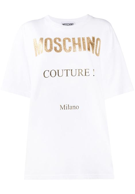Oversized logo T-shirt MOSCHINO | T-shirt | J07134401001