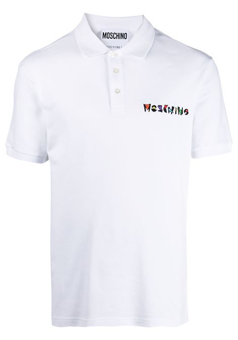 Logo polo shirt MOSCHINO | Polo | J121320431001