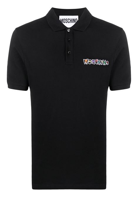 Logo polo shirt MOSCHINO | Polo | J121320431555