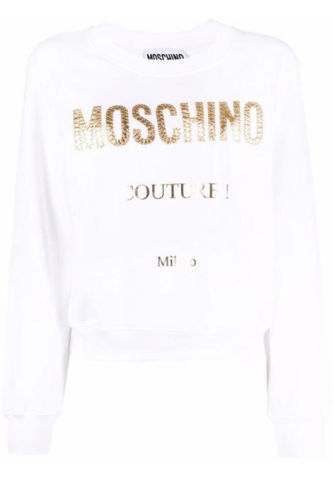 Felpa con logo Donna MOSCHINO | Felpe | J17134271001