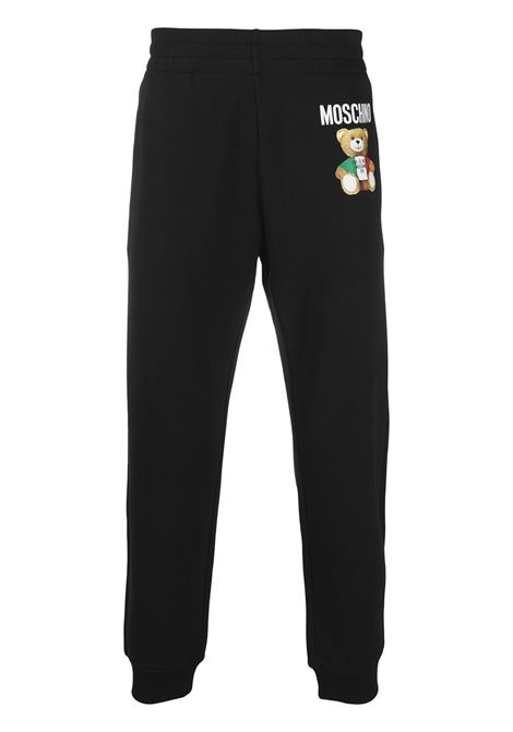 Logo track pants MOSCHINO | Trousers | V034220271555