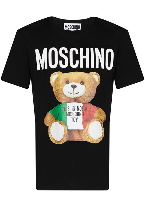 Italian Teddy Bear T-shirt MOSCHINO | T-shirt | V072020401555