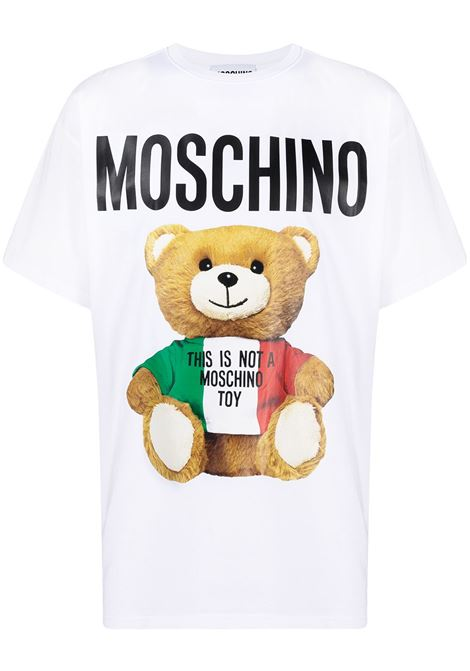 Italian Teddy Bear T-shirt MOSCHINO | T-shirt | V072120401001