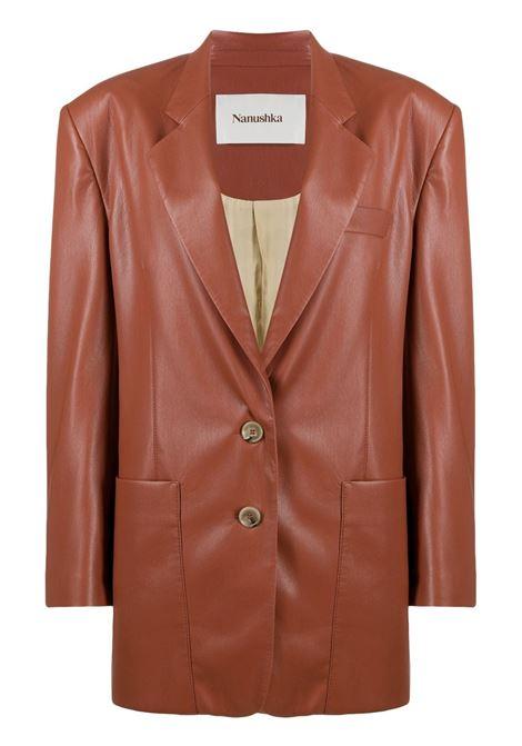 Nanushka giacca evan donna brick NANUSHKA | Giacche | EVANBRCK