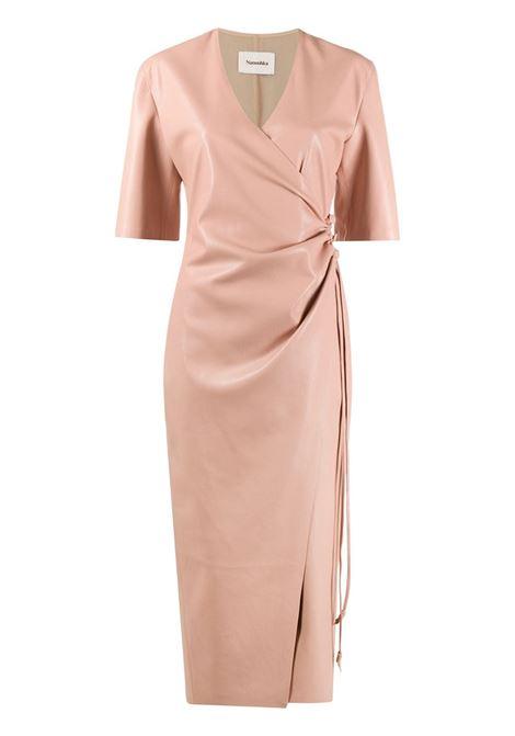 Nanushka abito midi donna pink NANUSHKA | Abiti | HELISAPNK