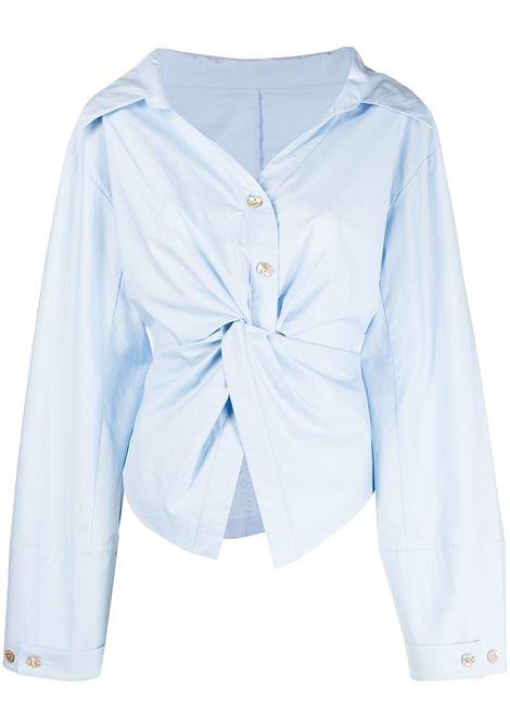 Nanushka camicia idris donna sky blue NANUSHKA | Camicie | IDRISSKYBL