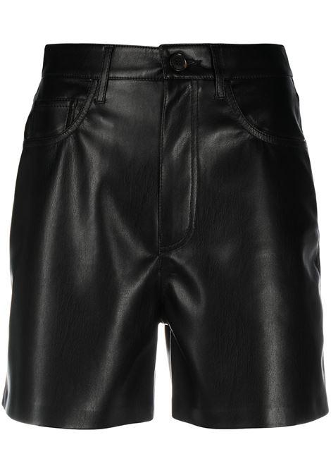 Nanushka shorts a vita alta donna black NANUSHKA | Shorts | LEANABLK