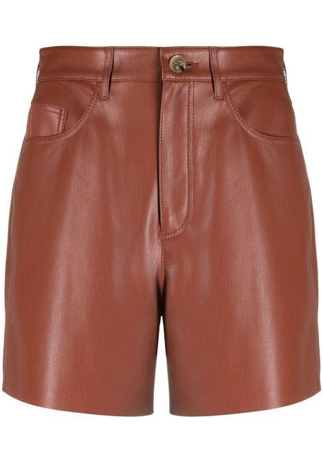 Nanushka pantaloncini leana donna brick NANUSHKA | Shorts | LEANABRCK