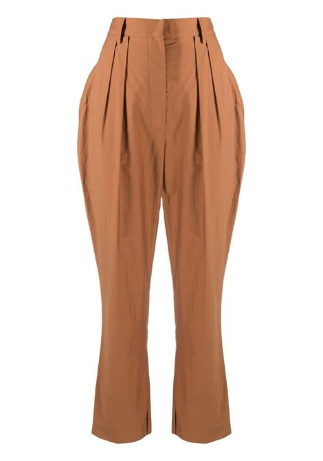 Nanushka pantaloni reya donna rust NANUSHKA | Pantaloni | REYARST