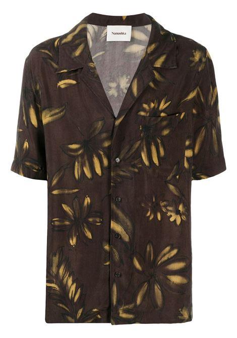 Nanushka camicia a fiori uomo abstract floral NANUSHKA | Camicie | VENCIABSTRCTFLRL
