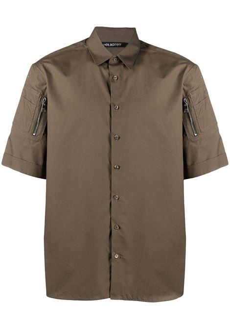 Neil Barrett camicia uomo army NEIL BARRETT | Camicie | PBCM1461SQ006S3098