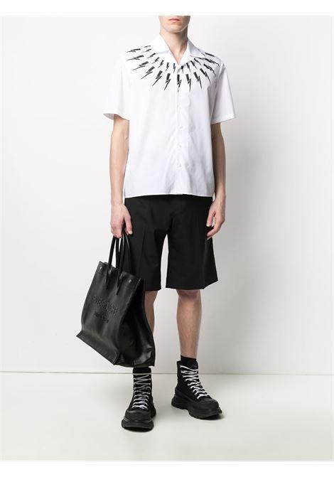 Thunderbolt-print shirt NEIL BARRETT | PBCM1469KQ010S526